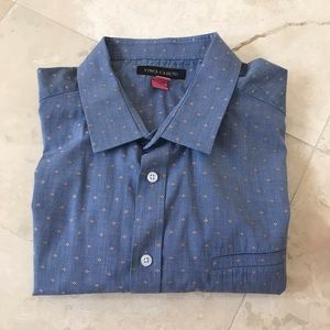 Vince Camuto Short Sleeve Button Up